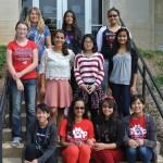 GAP Girls 2014-15-Group2